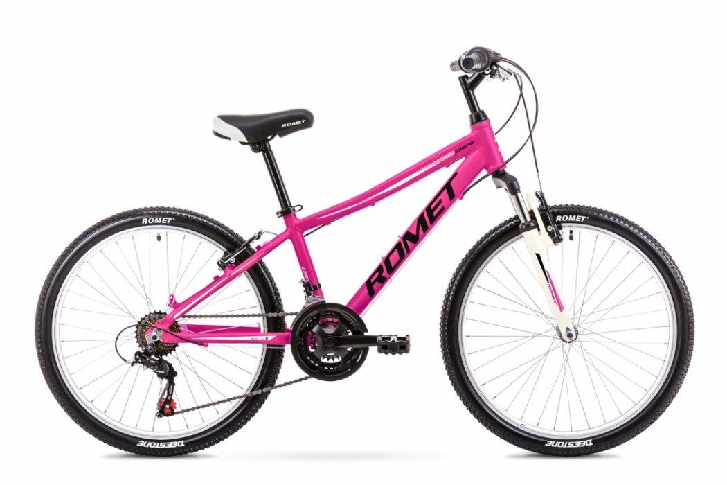 Romet Jolene 24 MTB 21speed Pink | City-cykler