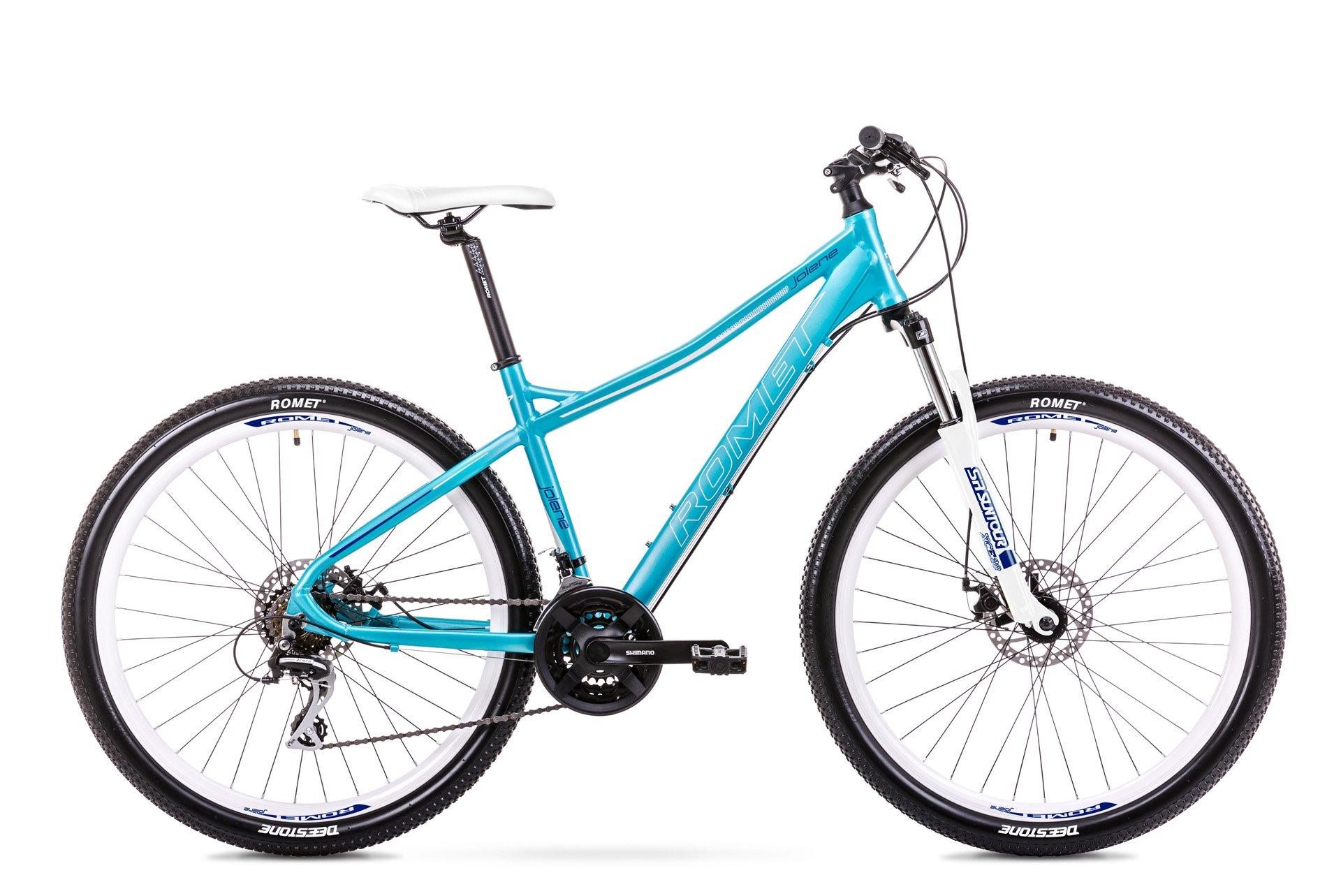 Romet Jolene 7.1 27,5 21speed Acera-mix Blå/hvid | Mountainbikes