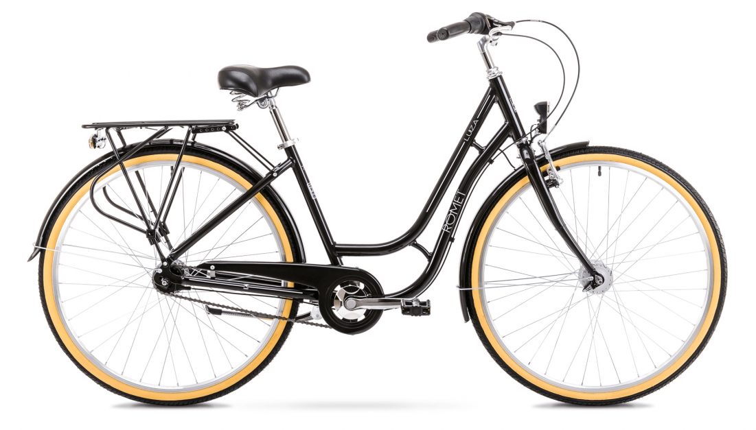 Romet Luiza 7 gear - dame cykel - Sort | City-cykler