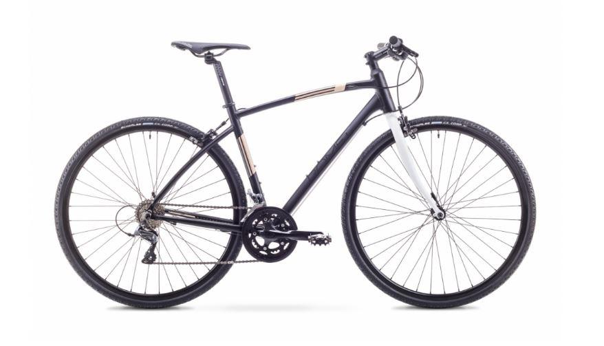Romet Mistral Cross Sort 58 CM | City-cykler