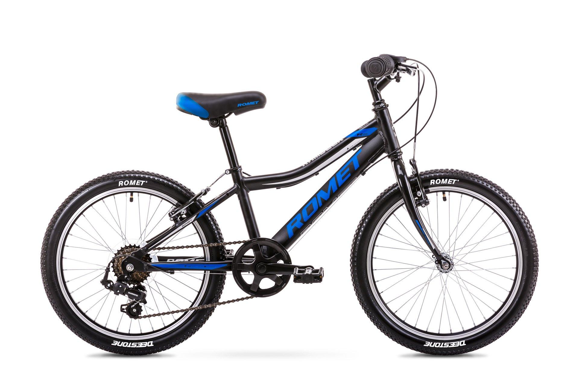 Romet Rambler 1 20 6speed Tourney Sort | City-cykler