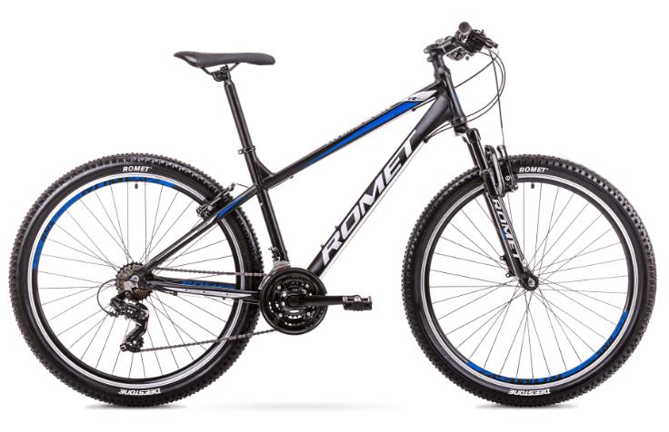 Romet Rambler R7.0 LTD, 27,5, 21gear, Shimano Tourney, sort/blå | Mountainbikes