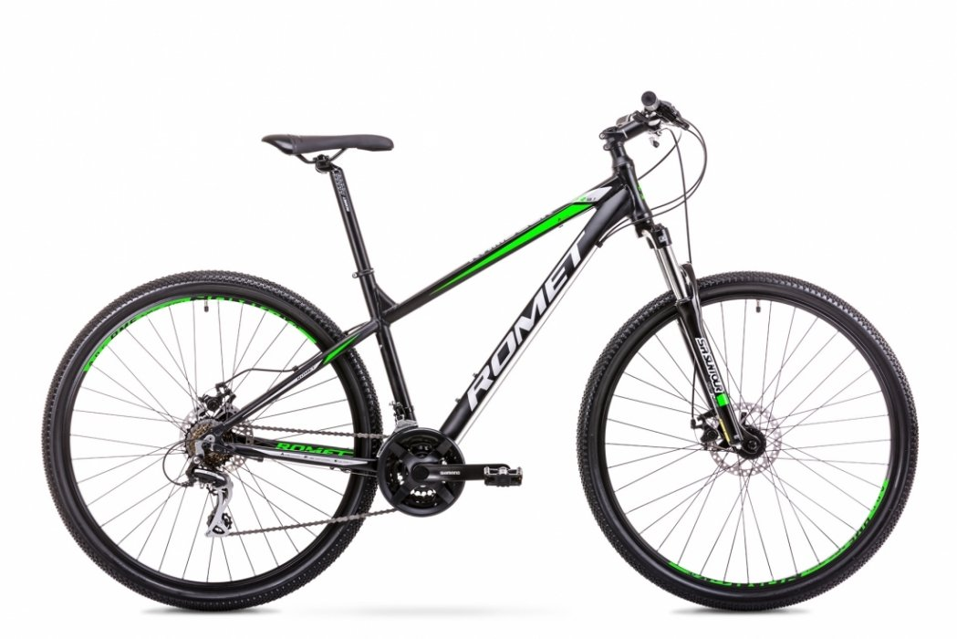 Romet Rambler R9.1 29 21speed Acera-mix Sort/Grøn | Mountainbikes