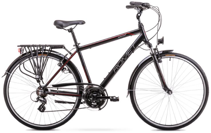 Romet Wagant, 28, 21gear, Altus-mix, sort/rød | City-cykler