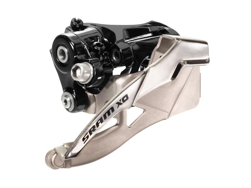 SRAM X0 forskifter 2x10 speed toppull 42t S3 mount | Front derailleur