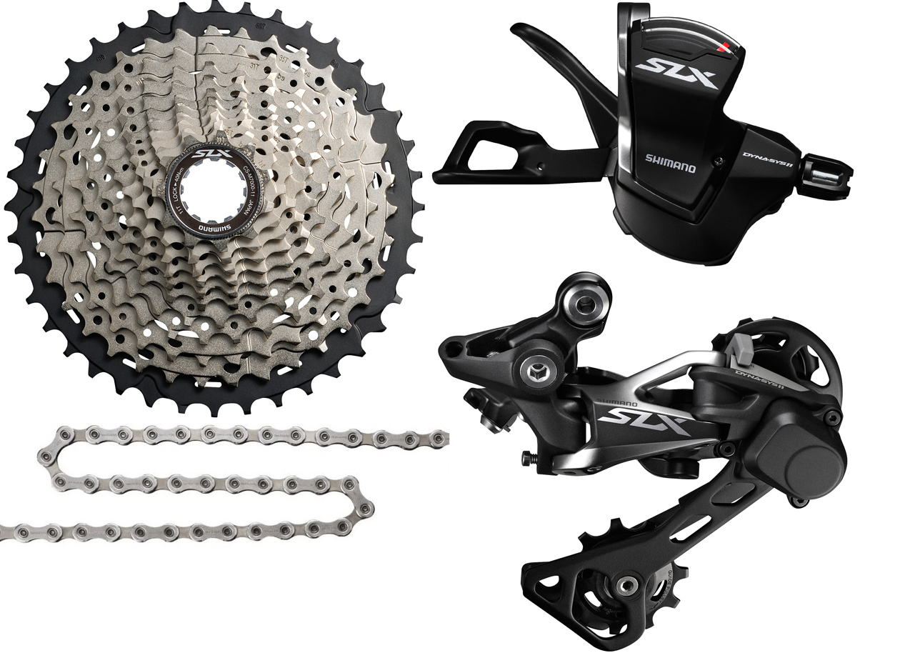 Shimano 1x11 opgraderingsgruppe SLX M7000 - 1.289,00 | Groupsets
