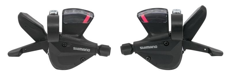 Shimano SLM310 Skiftegrebssæt 3x7 speed | Gear levers