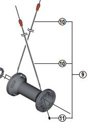 Shimano WH 9000 C24 Forhjul Eger 285mm | Eger