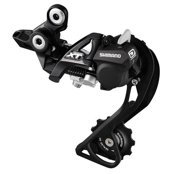 Shimano XT M786 bagskifter medium arm sort - 499,00 : Cykelgear.dk - Cykelgear.dk
