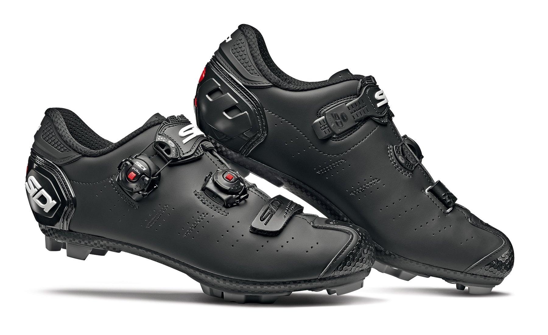 Sidi Dragon 5 SRS Matt MTB Shoes - Matt Black | Shoes and overlays