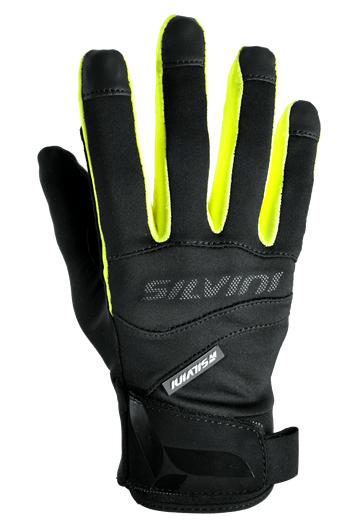 Silvini Fusaro handsker sort/neon