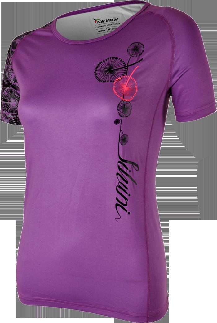 Silvini Giona T-Shirt lilla til kvinder   Jerseys