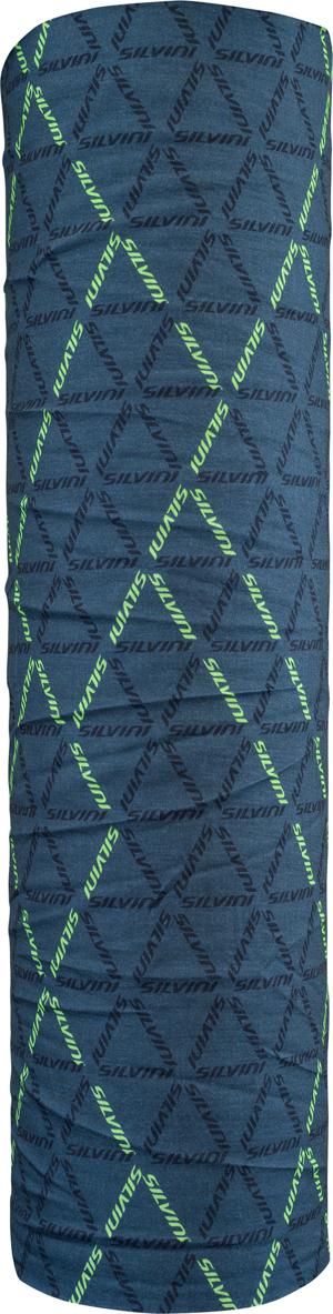 Silvini Motivo halsedisse blå med mønster