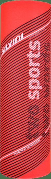 Silvini Motivo halsedisse rød med mønster