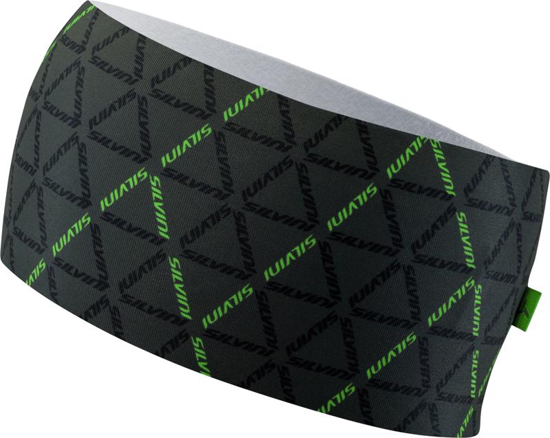 Silvini Piave pandebånd grøn med mønster