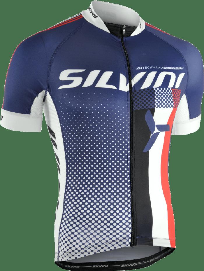 Silvini Team Cykeltrøje Blå