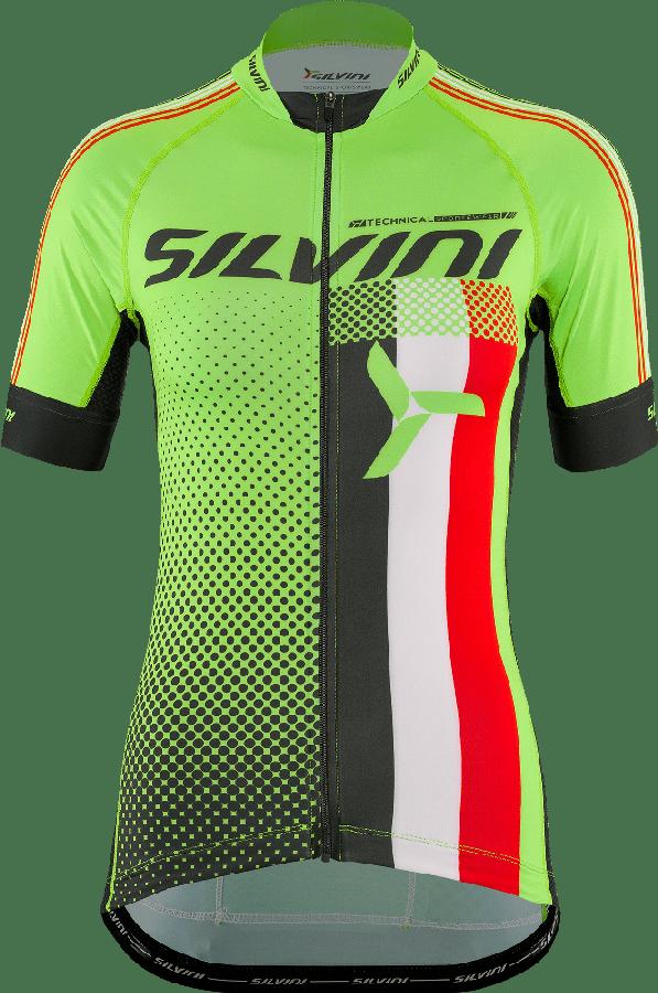 Silvini Team Cykeltrøje Grøn til kvinder