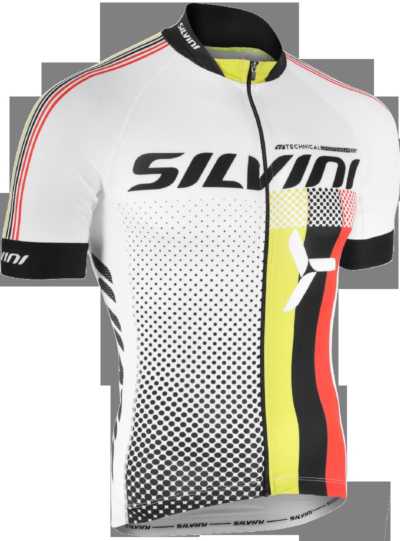 Silvini Team Cykeltrøje Hvid