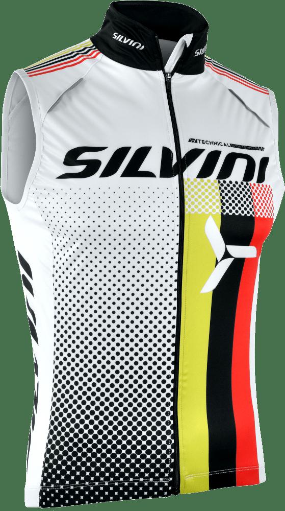 Silvini Team Cykelvest Hvid