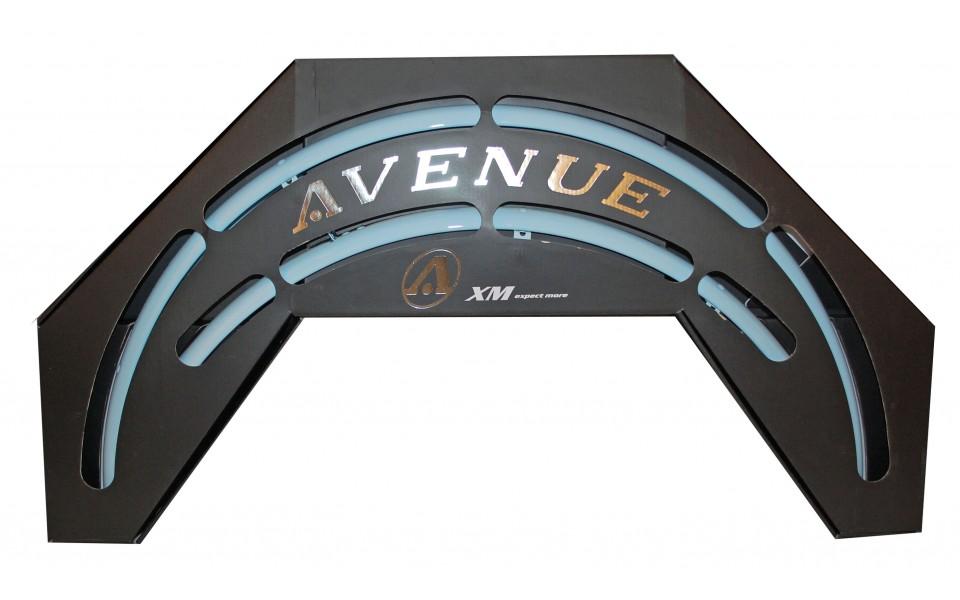 Avenue skærmsæt Blå (Sky Blue) 35 mm | Mudguards Set