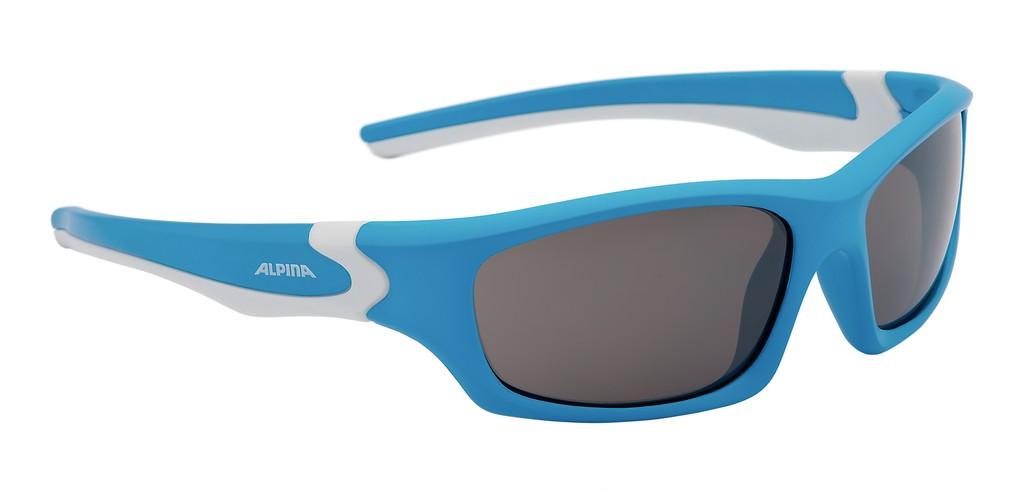 Solbrille Alpina Flexxy Teen Blå/Hvid | Briller