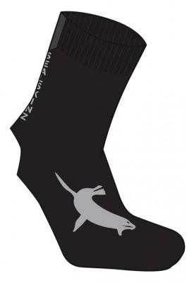 SealSkinz Sleeve Socks Sort | Strømper