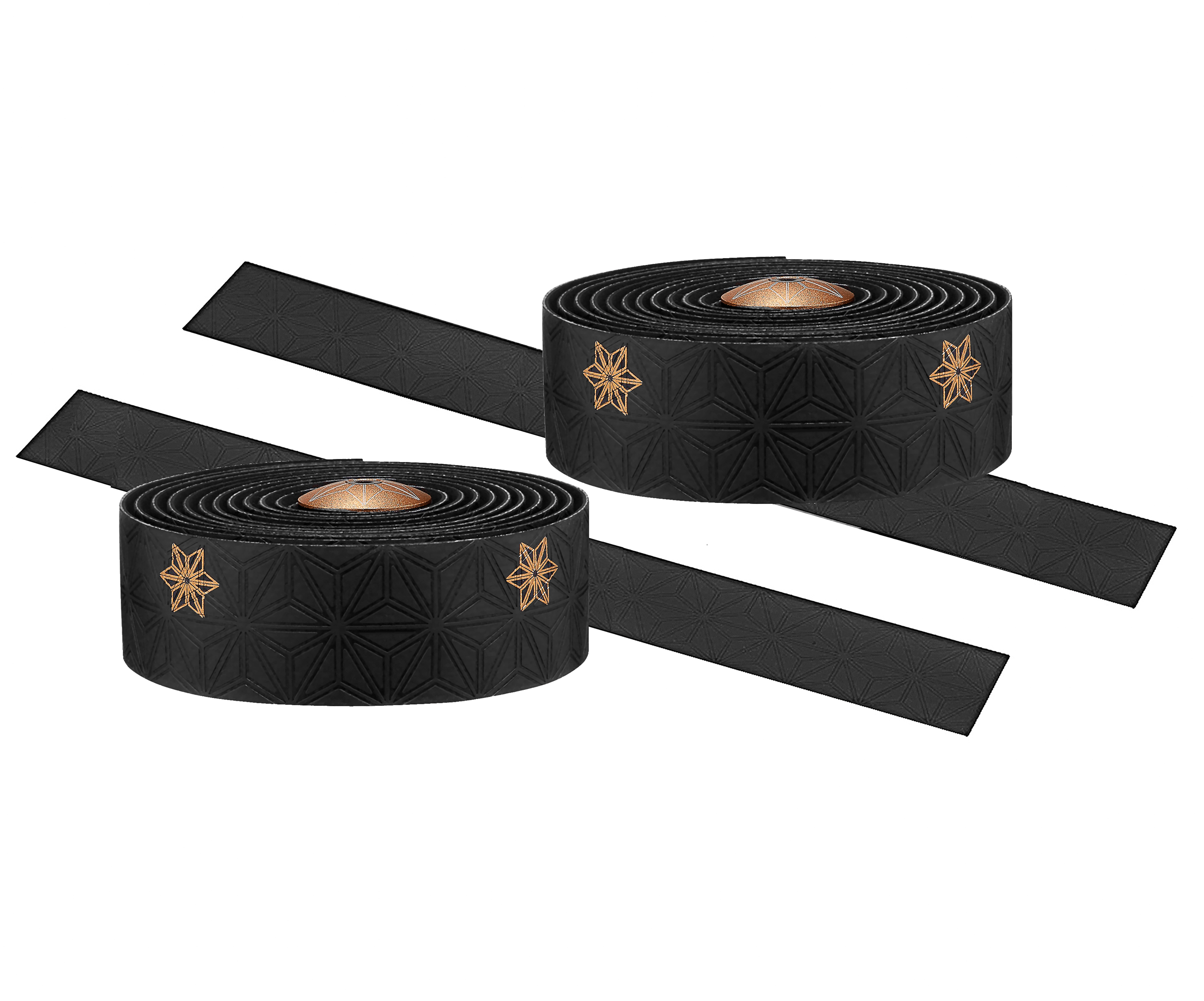 Supacaz Galaxy Styrbånd Sort/guld | Bar tape