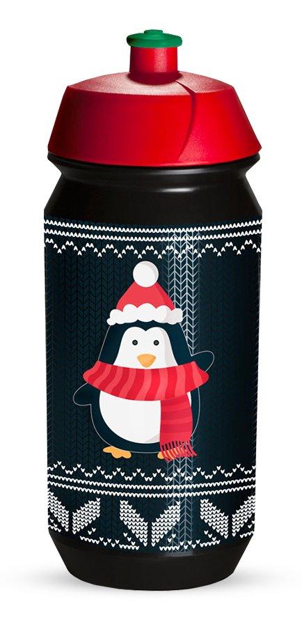 Tacx Shiva 500 ml flaske med pingvin | Drikkedunke