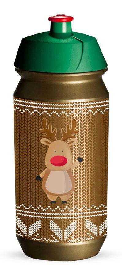 Tacx Shiva 500 ml flaske med rensdyr | Drikkedunke