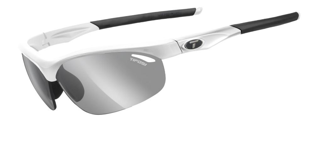Tifosi Veloce fotokromiske cykelbriller hvid | Briller