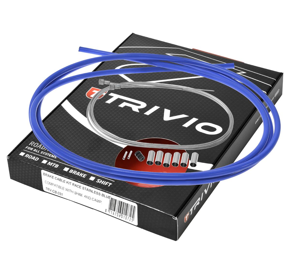 Trivio Bremsekabel sæt MTB Blå | MTB