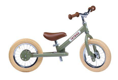 Trybike Balance / Løbecykel 2 Hjul Vintage Grøn | item_misc