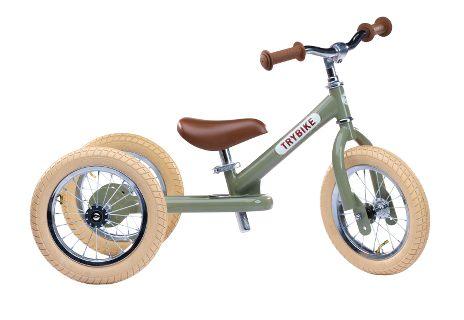 Trybike Balance / Løbecykel 3 Hjul Vintage Grøn | item_misc