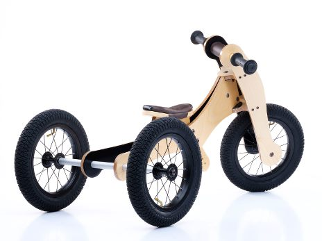 Trybike Balance / Løbecykel Birketræ 4 i 1 | Løbecykel