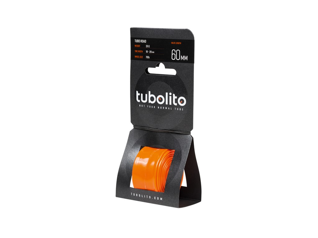 Tubolito Letvægts Racer Slange 700x18-28C 60mm 39 Gram | Slanger