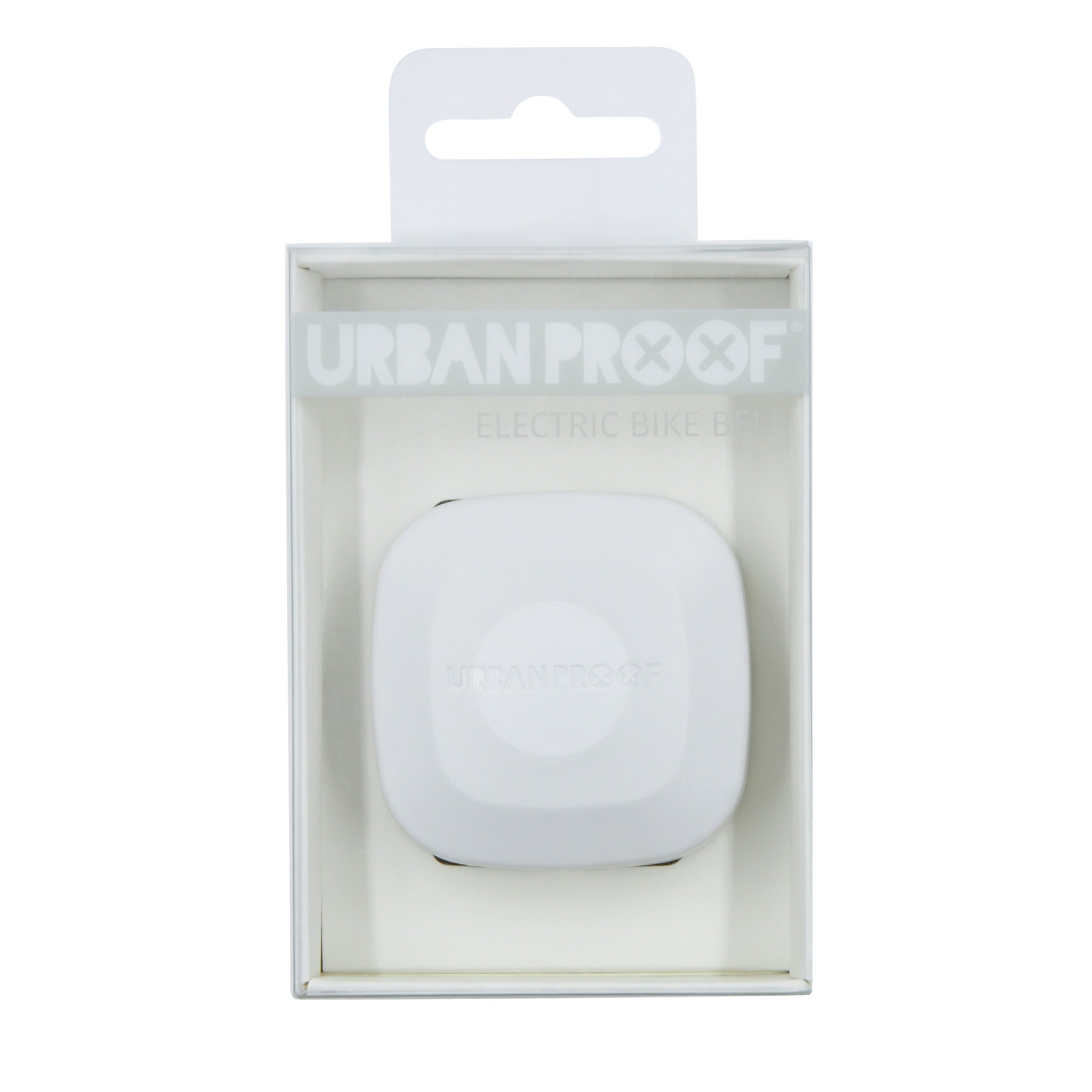 Urban Proof Eletronisk Ringklokke Hvid