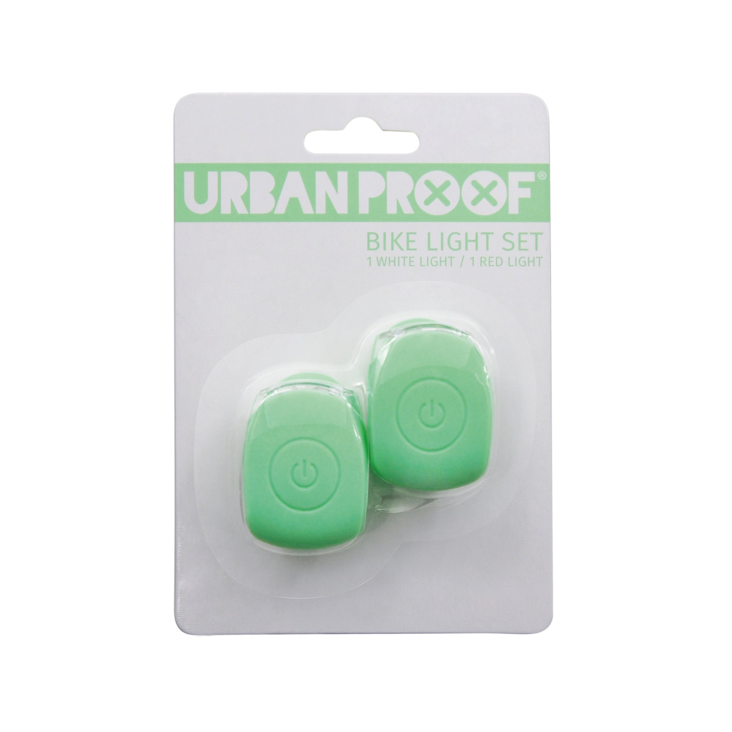 Urban Proof Silicon Lights Pastel Green | City-cykler