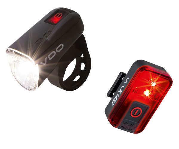 VDO ECO Light M30 Sæt | Batterier og opladere