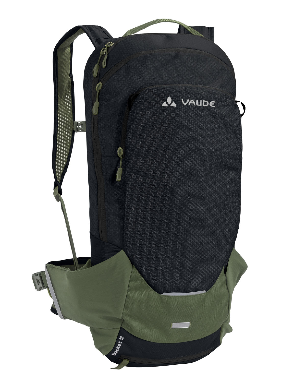 Vaude Bracket 10 rygsæk sort/grøn | Travel bags