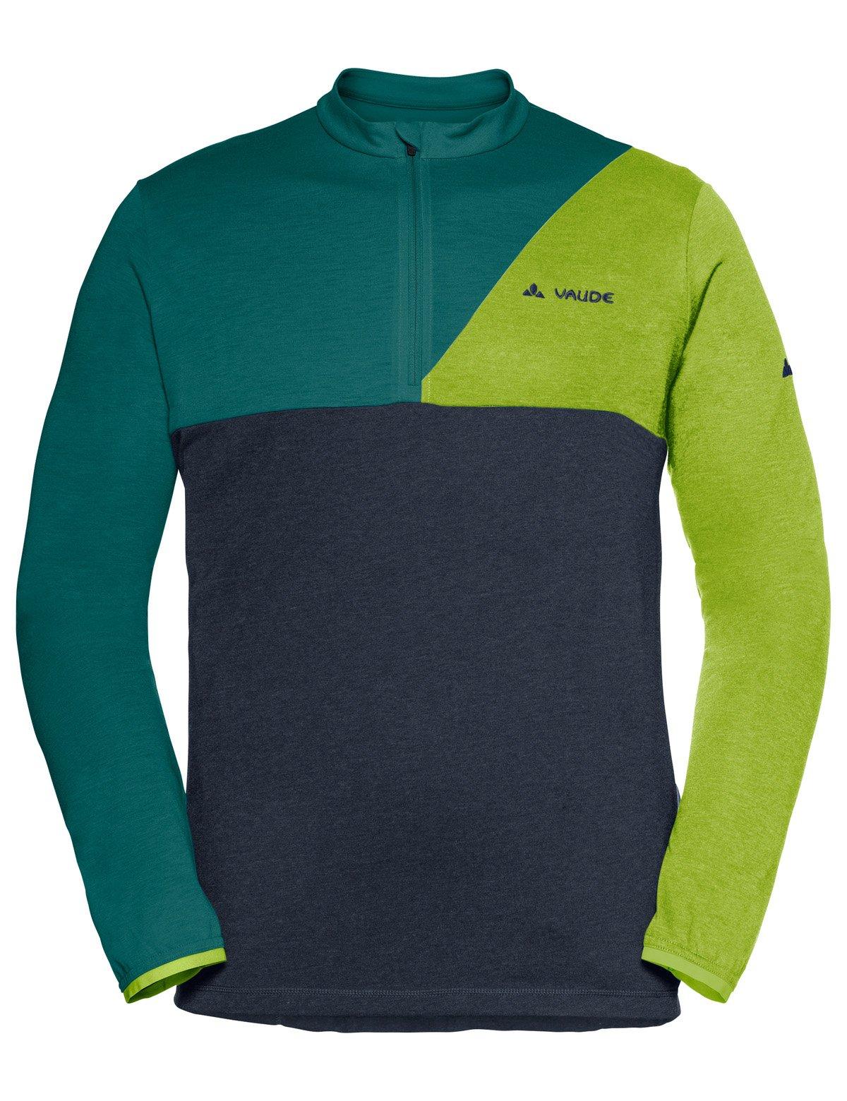 Vaude Tremalzo cykeltrøje med lange ærmer grøn | Trøjer