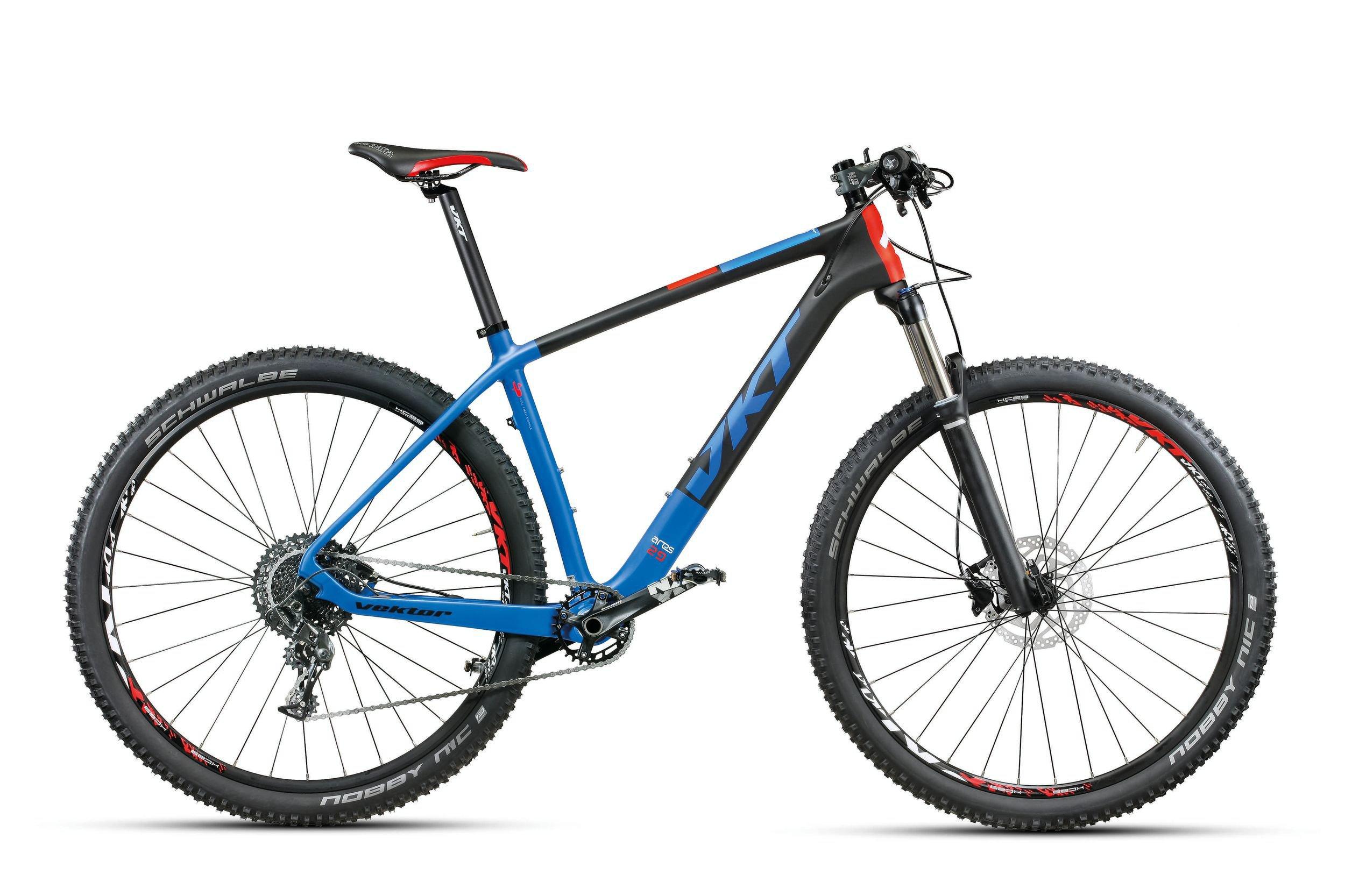 Vektor Ares Carbon 29 11 speed SRAM NX, blå/sort/rød
