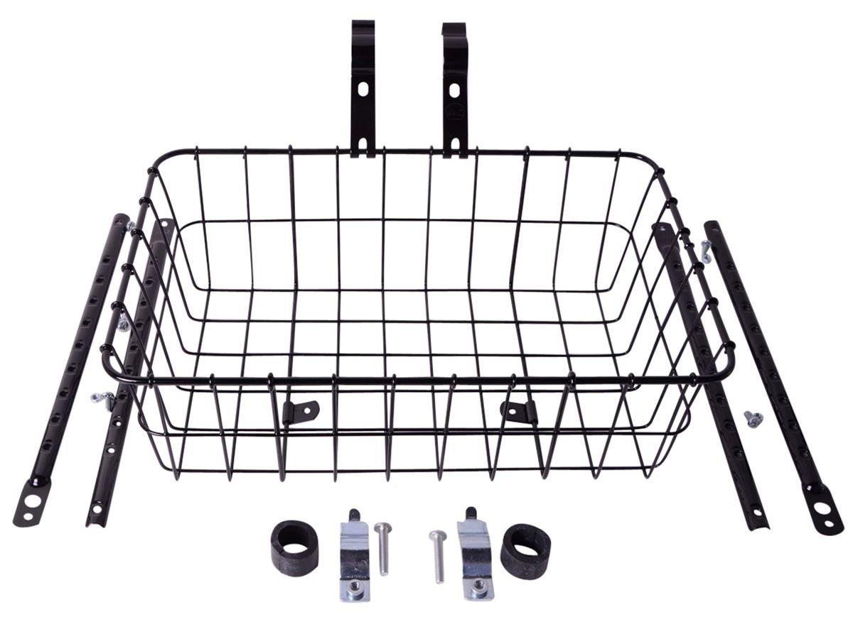 Wald Multifit kurv 38x25x12cm sort | Bike baskets