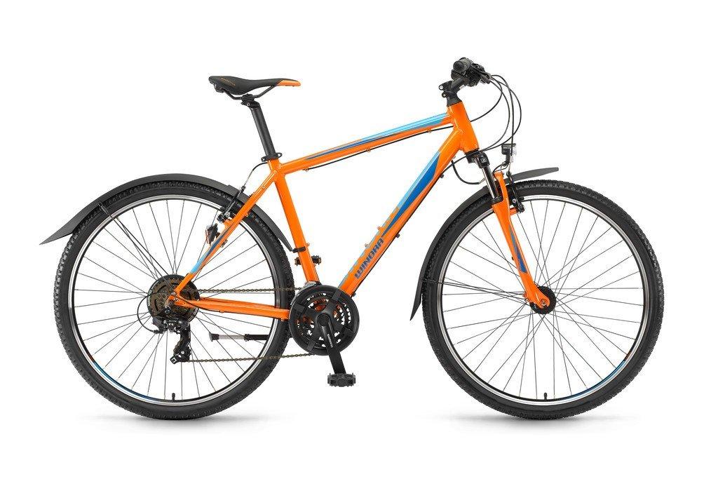 Winora Grenada herre cykel 28 21gear - Orange/blå - 2.949,00 : Cykelgear.dk - Cykelgear.dk