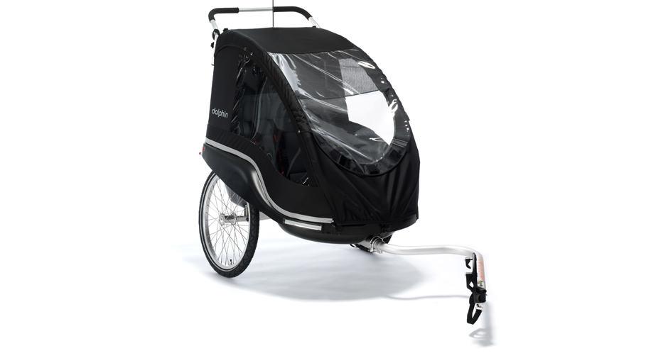 Winther Dolphin XL cykeltrailer sort | bike_trailers_component