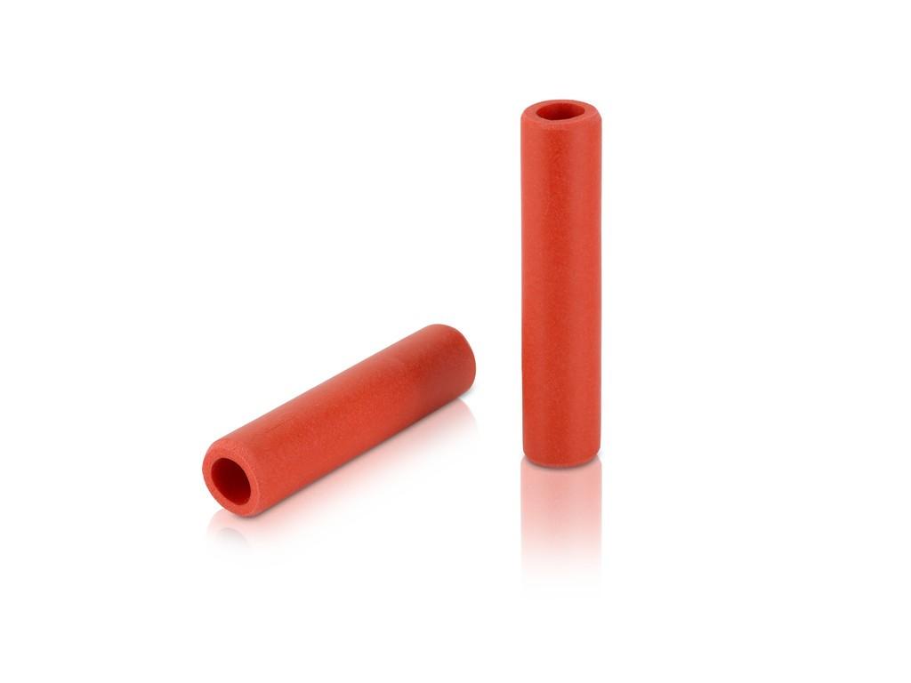 XLC Silikone håndtagssæt rød | Handles