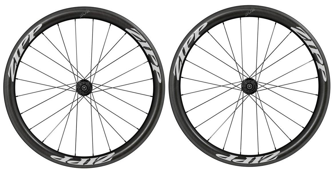 Zipp 302 hjulsæt sorte decaler | Wheelset
