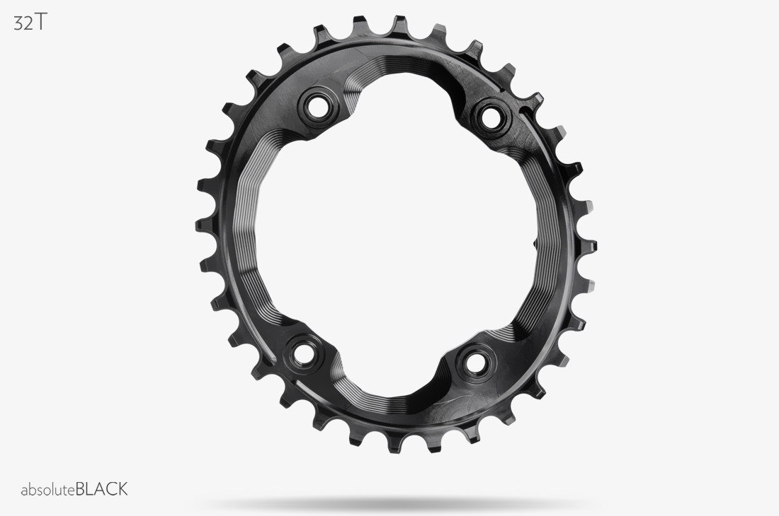 Absolute Black Klinge Oval XTR M9000 | Klinger