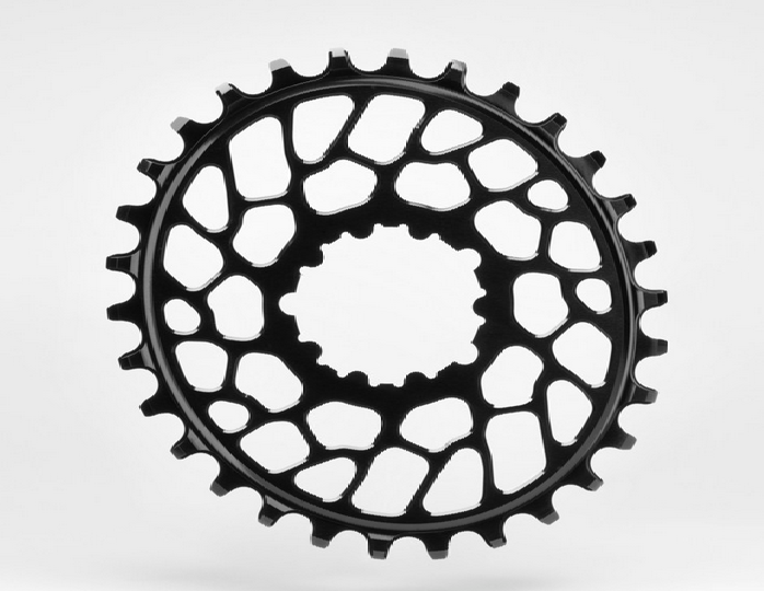 Absolute Black Klinge 34T Oval direkte montering BB30 | chainrings_component