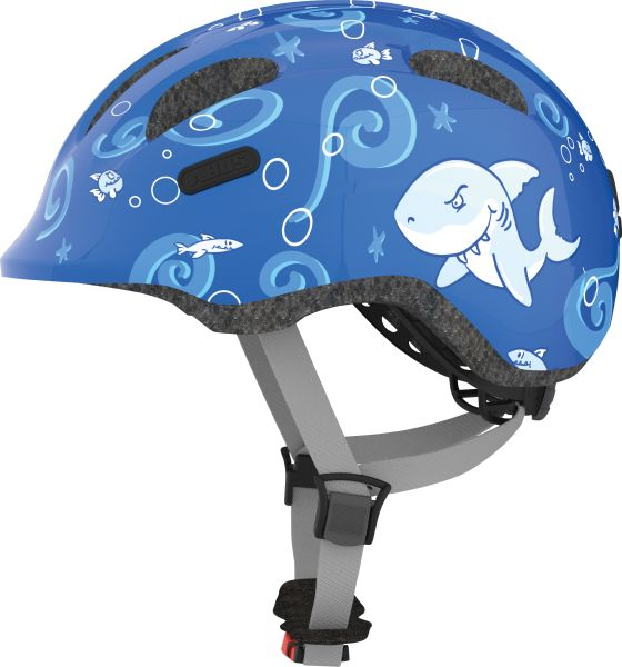 Abus Smiley 2.0 Blue sharky cykelhjelm | Helmets