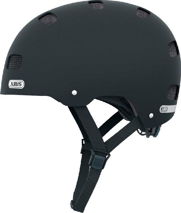 Abus Scraper Kid 2.0 sort børnehjelm | Helmets
